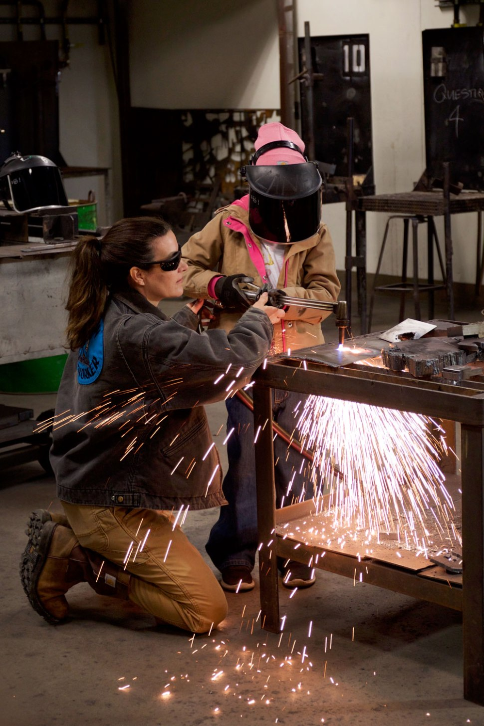 Bay Area Welder Diana Planson / Crafted in Carhartt