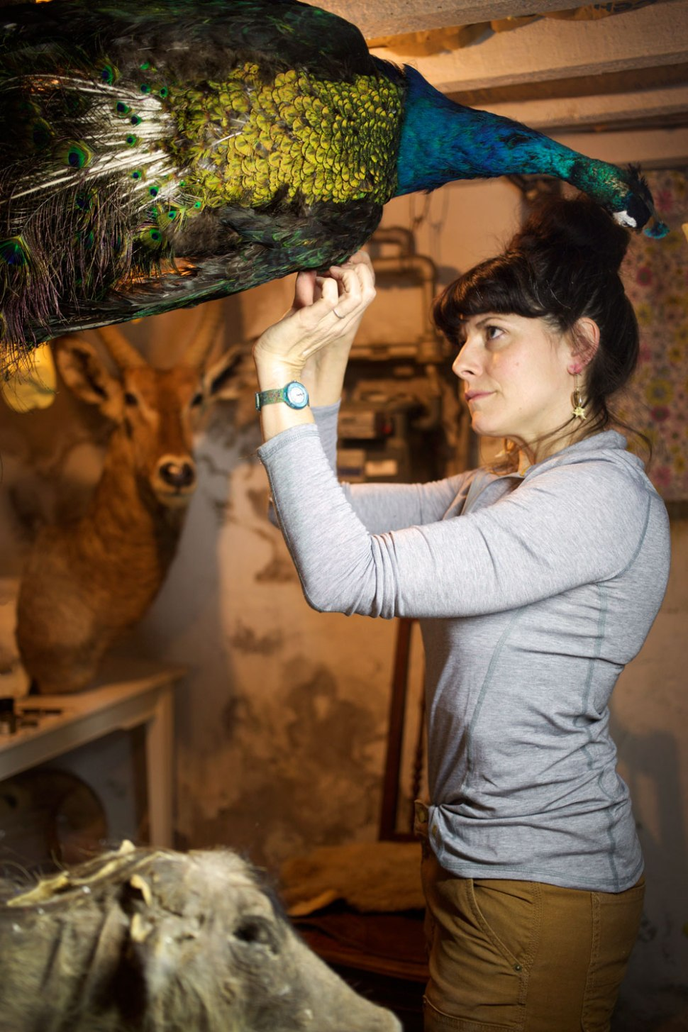 Taxidermist Beth Beverly / Crafted in Carhartt