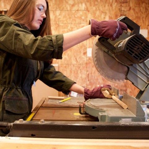 DIY Peg Board Storage / Crafted in Carhartt