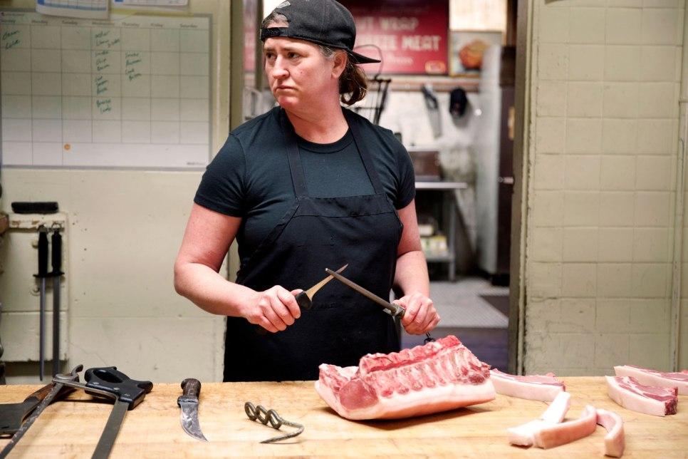 Avedano's Women Run Butcher Shop / Crafted in Carhartt