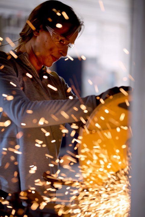 The Women of Iron Maiden Welding / Crafted in Carhartt