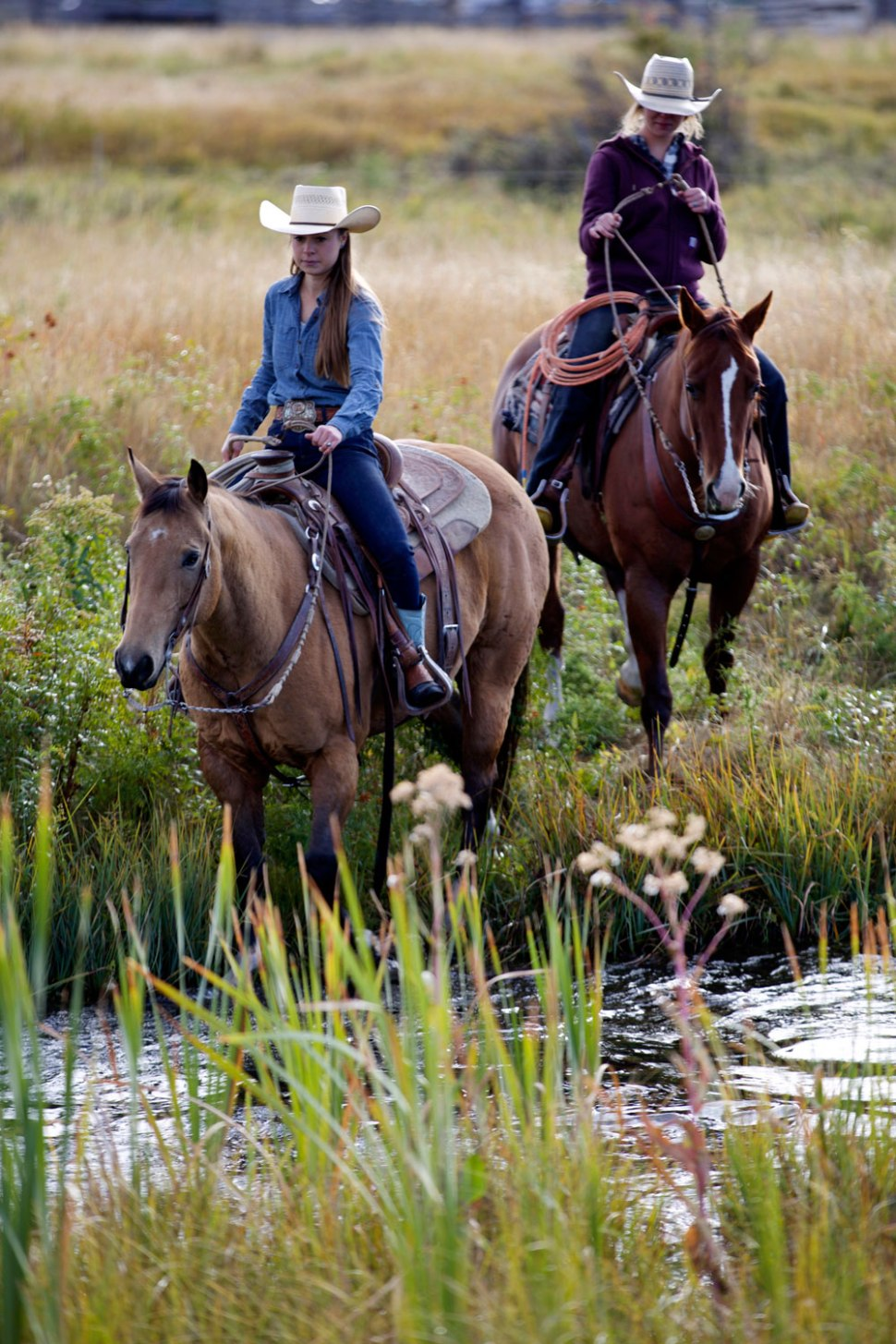 Lilly Brogger and Morgan Kuntz in Montana / Crafted in Carhartt