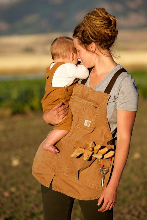 Montana Farmer Elizabeth Henric / Crafted in Carhartt