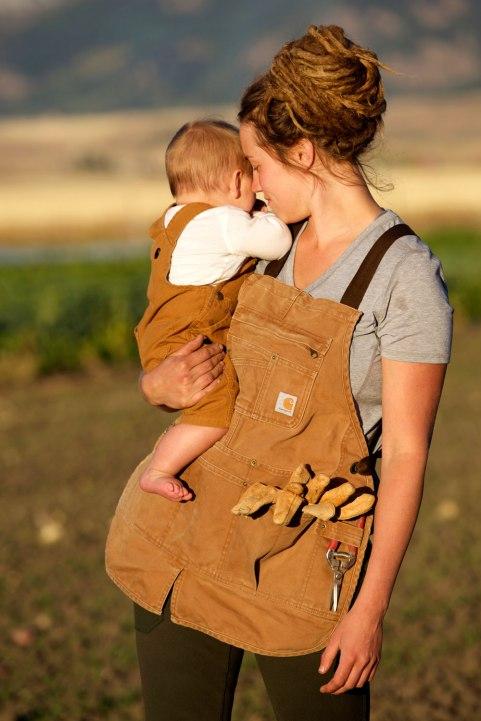 Montana Farmer Elizabeth Henric / Crafted in Carhartt