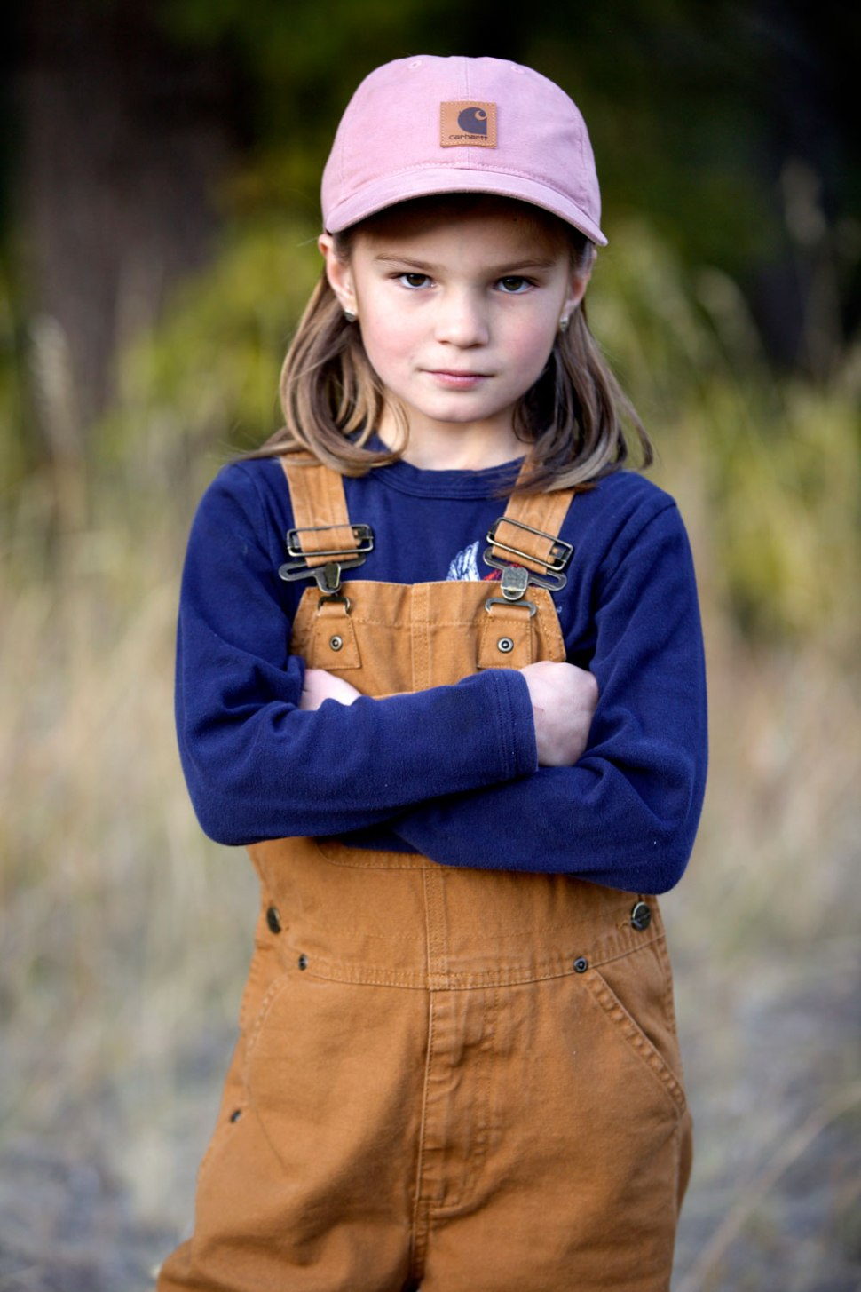 Pint Sized Adventurer, Rowan / Crafted in Carhartt