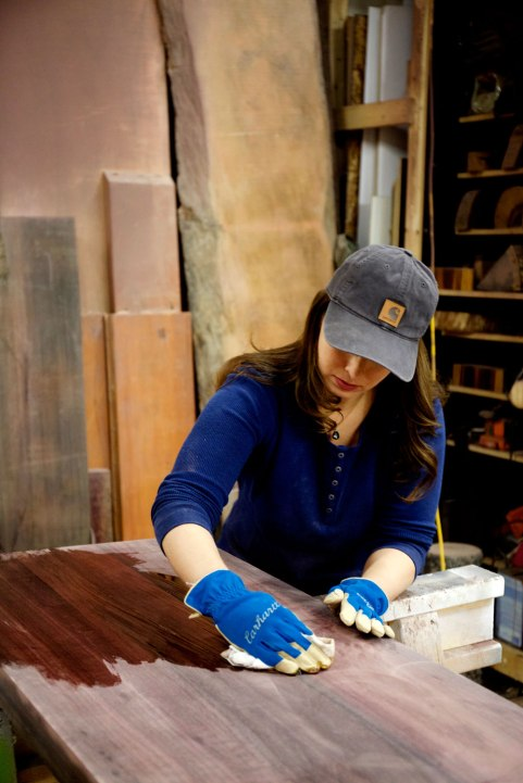 Woodworker Alexandra Climent / Crafted in Carhartt