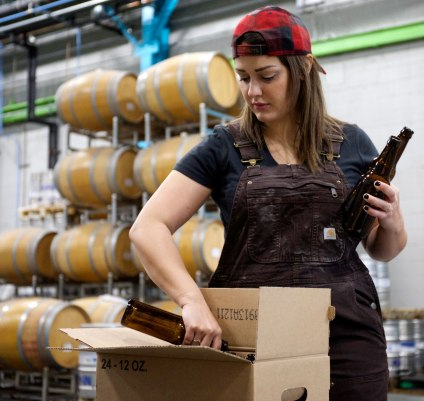 Katarina Martinez of Lineup Brewing / Crafted in Carhartt