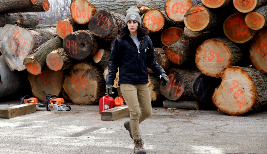 Jenny from Live Edge / Crafted in Carhartt