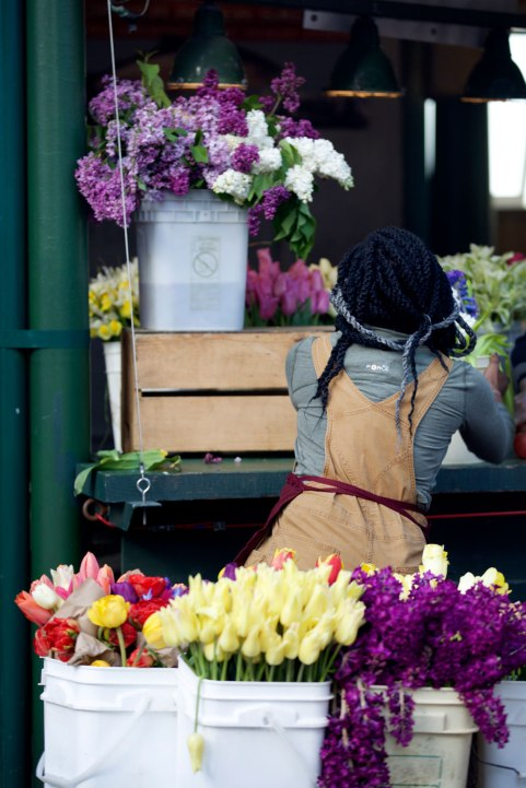 Renata Bryant at Pike Place Market / Crafted in Carhartt