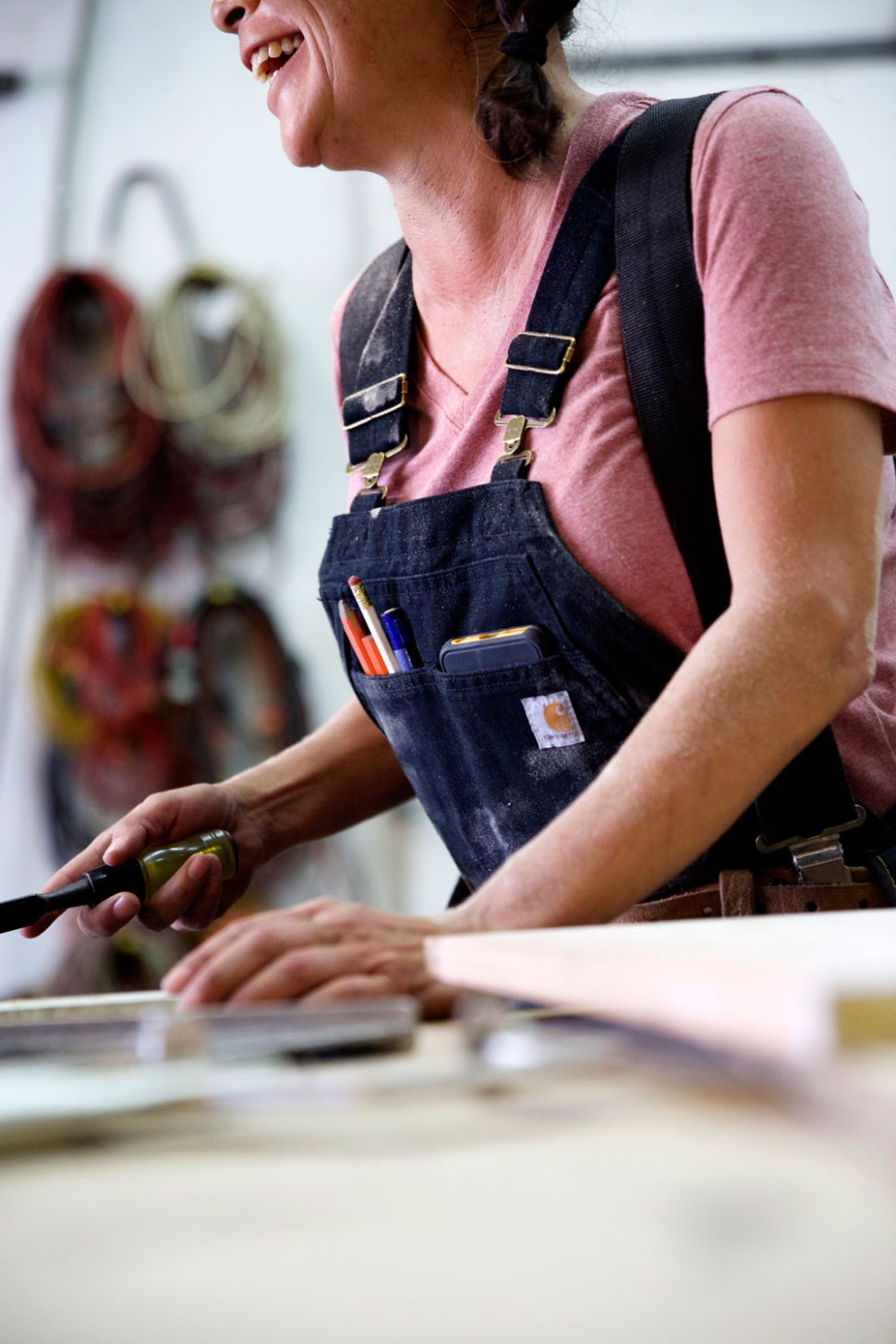 Carpenter Jasel Martinez / Crafted in Carhartt