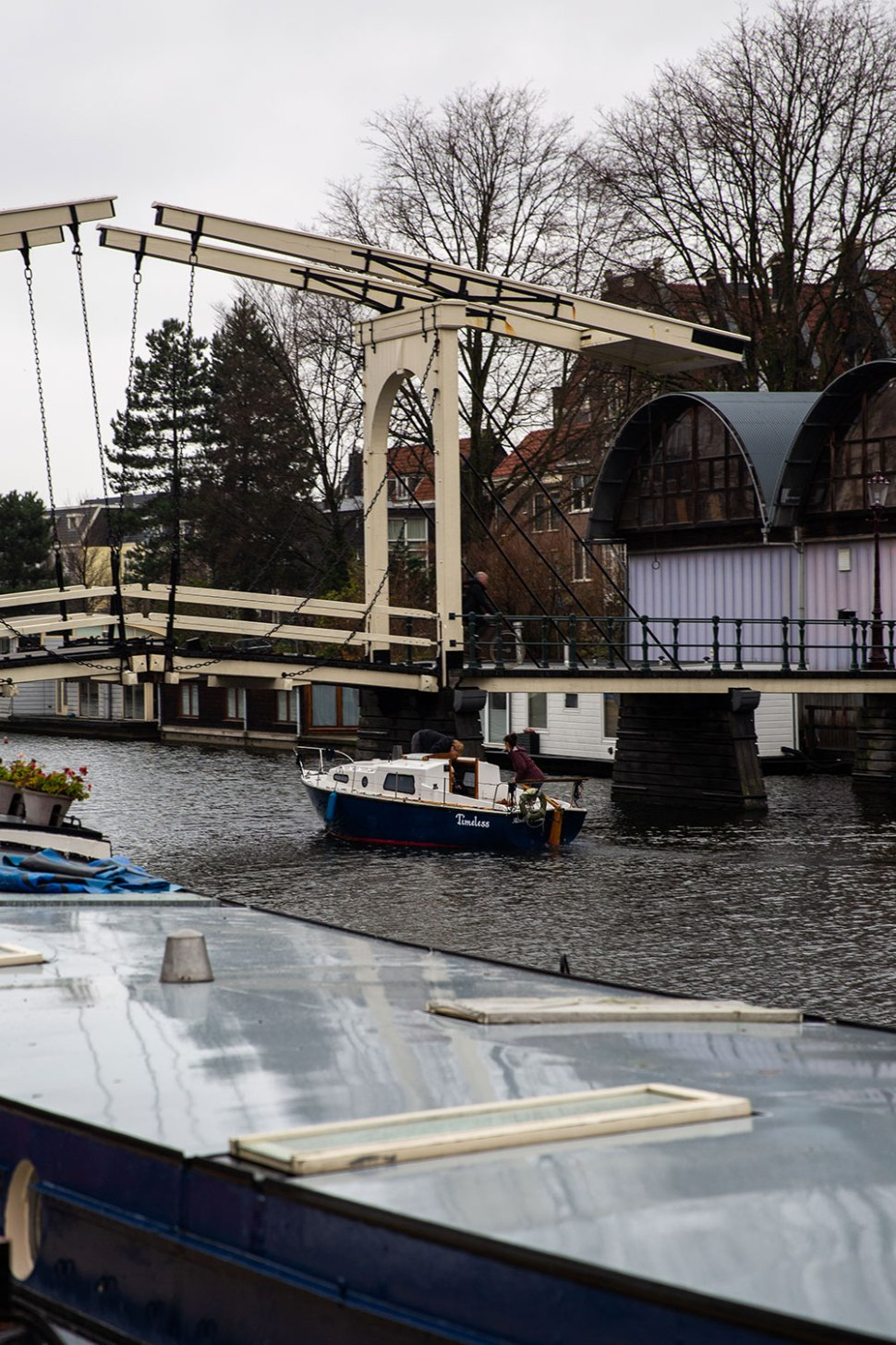 Life on a House Boat in Amsterdam / Crafted in Carhartt