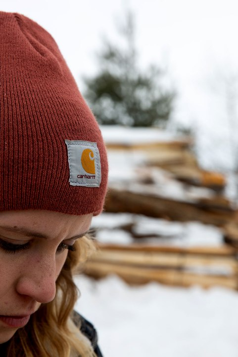 Brit McCoy of The Wood Cycle in Wisconsin / Crafted in Carhartt